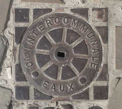 French water access cover